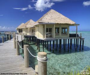 Ferienhäuser am Meer puzzle