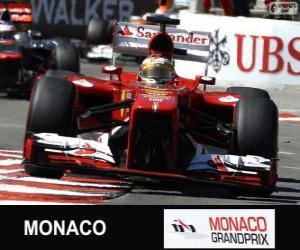 Fernando Alonso - Ferrari - Monte-Carlo-2013 puzzle