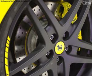 Ferrari Autofelge puzzle
