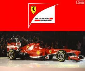 Ferrari F138 - 2013 - puzzle
