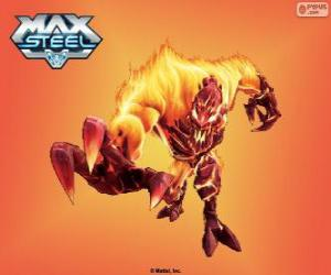 Feuer Elementor, Max Steel puzzle