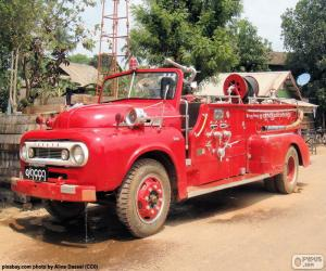 Feuerwehrauto, Burma puzzle