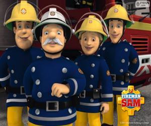 Feuerwehrleute von Pontypandy puzzle