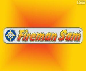 Feuerwehrmann Sam logo puzzle