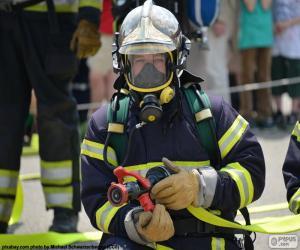 Feuerwehrmann-training puzzle