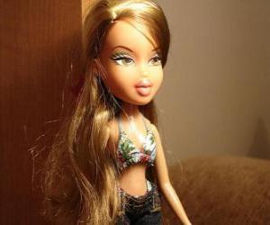 Fianna, ist ein Mädchen, Liebhaber von Duft-und Mode elegant und glamourös, sie ist Brasilien puzzle