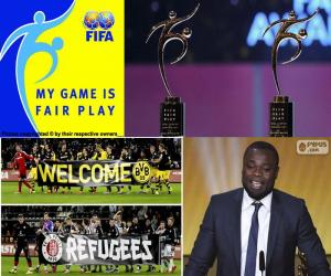 FIFA Fairplay-Auszeichnung 2015 puzzle