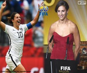 FIFA Frauen Weltfußballer 2015 puzzle