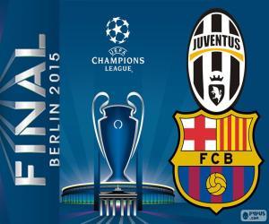 Final Champions League 2014-2015 puzzle
