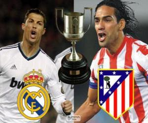 Final Cup des Königs 2012-13, Real Madrid - Atletico Madrid puzzle