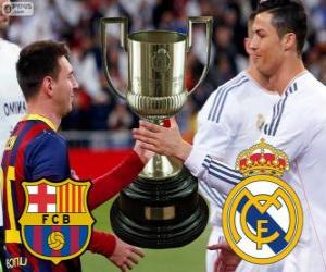 Final Cup des Königs 2013-14, FC Barcelona - Real Madrid puzzle