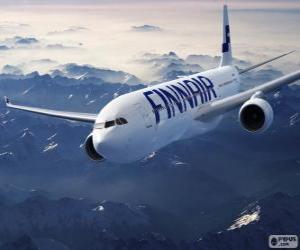 Finnair, Fluggesellschaft in Finnland puzzle