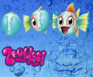 Fisch, Zoobles von Seagonia puzzle