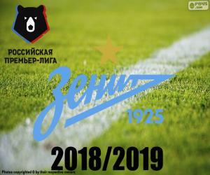 FK Zenit, Meister 2018-2019 puzzle