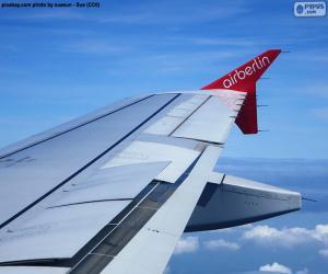 Flügel eines Flugzeugs puzzle