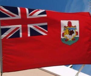 Flagge Bermudas puzzle