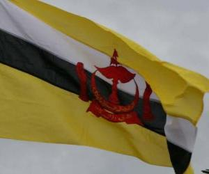 Flagge Brunei puzzle