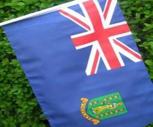 Flagge der britischen Jungferninseln puzzle