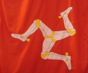 Flagge der Isle Of Man puzzle