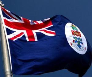 Flagge der Kaimaninseln puzzle