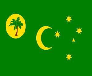 Flagge der Kokosinseln puzzle