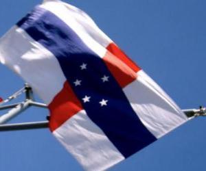 Flagge der Niederländischen Antillen puzzle