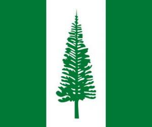 Flagge der Norfolkinsel puzzle