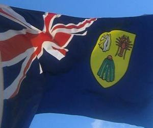 Flagge der Turks-und Caicosinseln puzzle