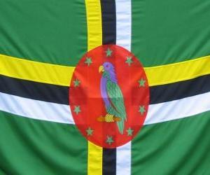 Flagge Dominica puzzle
