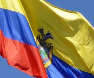 Flagge Ecuador puzzle