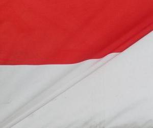 Flagge Indonesien puzzle