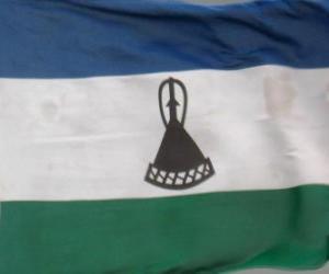 Flagge Lesothos puzzle