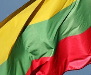 Flagge Litauens puzzle