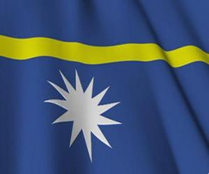 Flagge Naurus puzzle