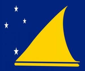 Flagge Tokelau puzzle