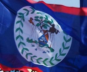 Flagge von Belize puzzle