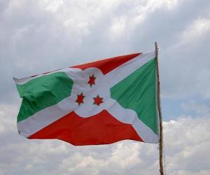 Flagge von Burundi puzzle