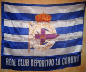 Flagge von Deportivo de La Coruña puzzle