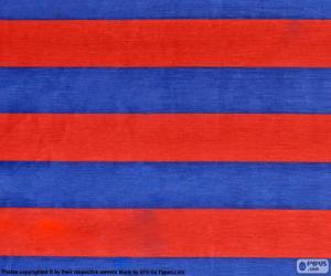 Flagge von F. C. Barcelona puzzle