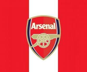 Flagge von FC Arsenal puzzle