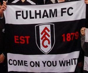 Flagge von Fulham F.C. puzzle