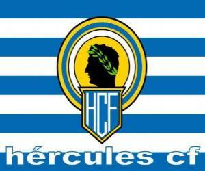 Flagge von Hércules Alicante puzzle