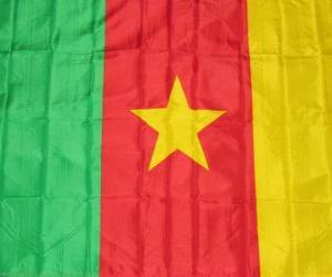 Flagge von Kamerun puzzle
