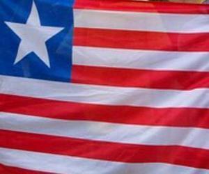 Flagge von Liberia puzzle