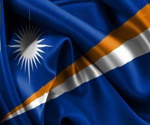 Flagge von Marshallinseln puzzle