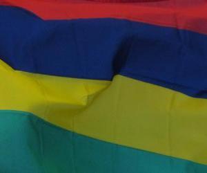 Flagge von Mauritius puzzle