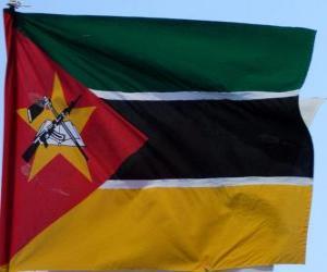 Flagge von Mosambik puzzle