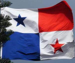 Flagge von Panama puzzle
