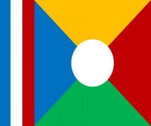 Flagge von Réunion puzzle