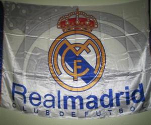 Flagge von Real Madrid puzzle